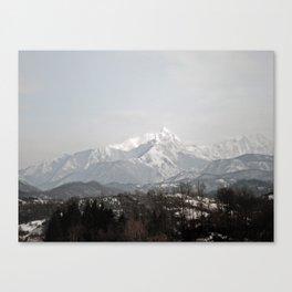 Alpi Apuane Canvas Print