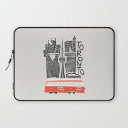 Toronto Cityscape Laptop Sleeve