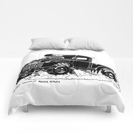 1946 Chevy Pick-up – BLACK Comforters