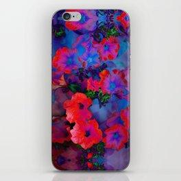 Ruby Red Vine iPhone Skin