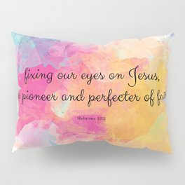 Perfecter of Faith, Scripture Tote Bag Pillow Sham