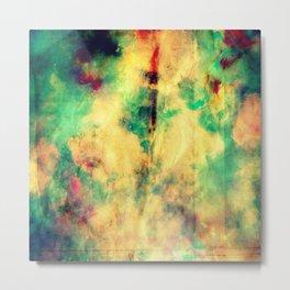 Fume Color Splash 04 Metal Print