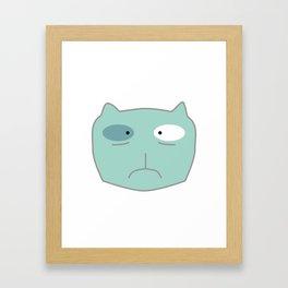 Product Dog aka Project Manager Selfie Framed Art Print