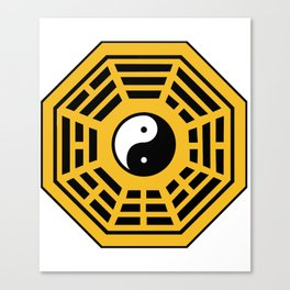 Yin Yang Bagua Canvas Print