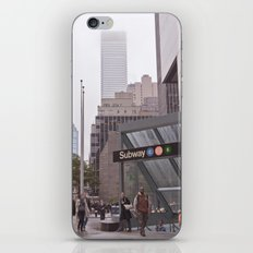 lost down-town... iPhone & iPod Skin