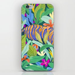 Colorful Jungle iPhone Skin