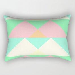 """Peaks"" - (Original Digital Artwork by Vincent Ferraro) Rectangular Pillow"