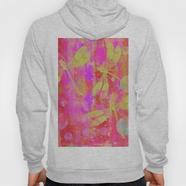 A Dragonflies and Dots Q Hoody