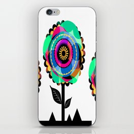 Fleurs 05 iPhone Skin