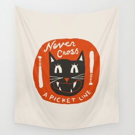 N is for Never Wall Tapestry