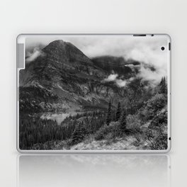 Grinnell Lake from the Trail No. 1 bw - Glacier NP Laptop & iPad Skin