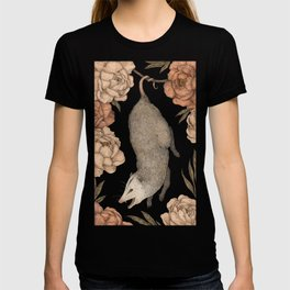 The Opossum and Peonies T-shirt