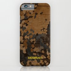 Modern Woodgrain Camouflage / Flecktarn Print Slim Case iPhone 6s