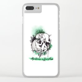 Gentleness is Strength Clear iPhone Case