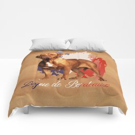 Dogue de Bordeaux Digital Art Comforters
