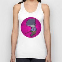 nemo Tank Tops featuring Captain Nemo by Kenneth Shinabery