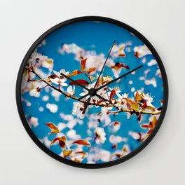 Spring Blossom I Wall Clock