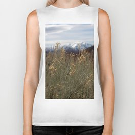 A View of the Mountains in Utah Biker Tank