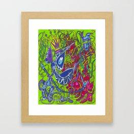 The Spotter Framed Art Print