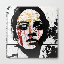 ANTI (Interlude) The Girl Metal Print