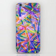 Triangle color splash iPhone & iPod Skin