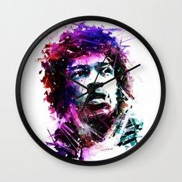 Jimmi Hendrix Wall Clock