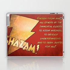 Hello my Name is Shazam! Laptop & iPad Skin