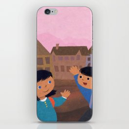 First Day of School iPhone Skin
