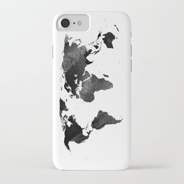 World map iphone cases society6 black watercolor world map iphone case gumiabroncs Choice Image