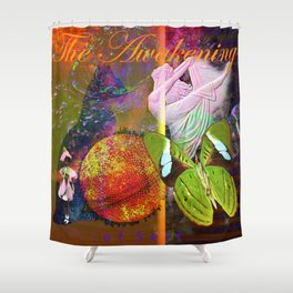 The Awakening of Self Shower Curtain