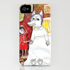 Girl & Wolf iPhone (4, 4s) Slim Case