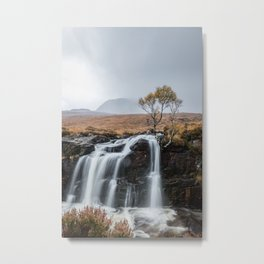 Rain in the highlands Metal Print