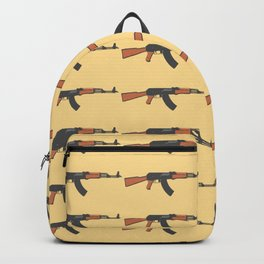 ak47 pattern logo Backpack