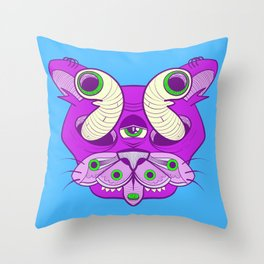 Spoonful of Sugar Throw Pillow