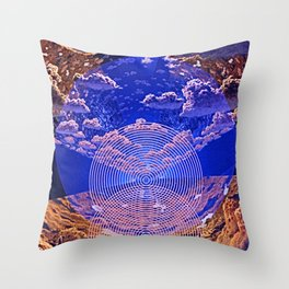 Manifestation Of A New Earth v2 Throw Pillow