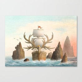 The Antlered Ship_Cover Canvas Print