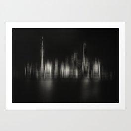 Shanghai Skyline IV Art Print