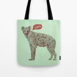 LOL (mint) Tote Bag