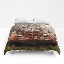 Abandoned Truck, Palomar Mountain Comforters