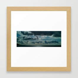 the clouds Framed Art Print