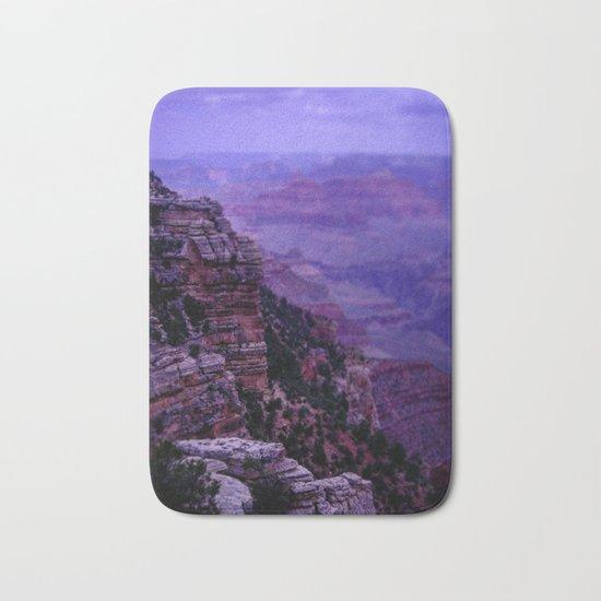Purple Grand Canyon Bath Mat