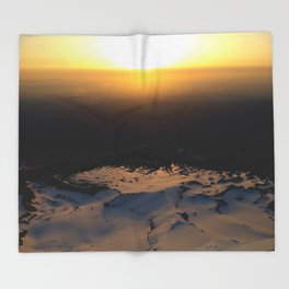 SunCry Throw Blanket