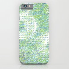 Peacock Feathers Doodle iPhone 6s Slim Case