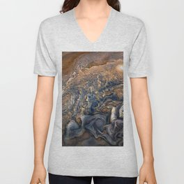 Jupiter's Clouds Unisex V-Neck