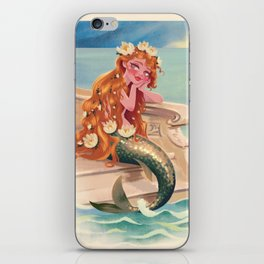 Classic Fairy Tale Mermaid iPhone Skin