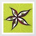 Tired Green Eyes Flower by borianagiormova