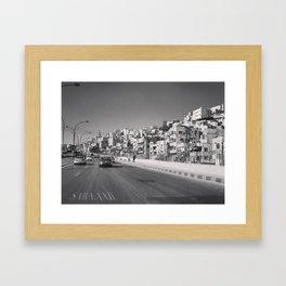 جبل القصور (Hill of Castles)  Framed Art Print