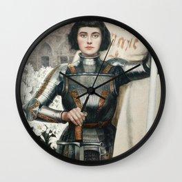 Saint Joan Of Arc Wall Clock