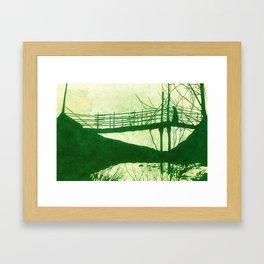 The Cold Walk Home Framed Art Print