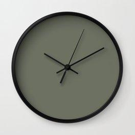 SLATE GREEN II Wall Clock